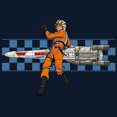 Luke Racer Tee by Manly Art