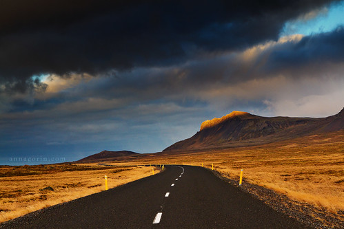 road travel sunset sky storm clouds canon iceland sigma stormy 7d goldenhour snaefellsnes snaefellsnespeninsula 1750mm thewayforward