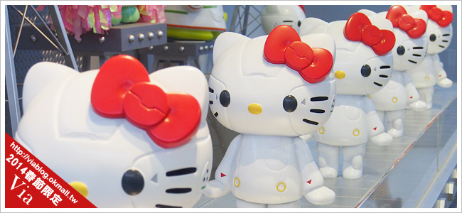 kitty展2014~ROBOT KITTY未來樂園在夢時代卡哇依登場!