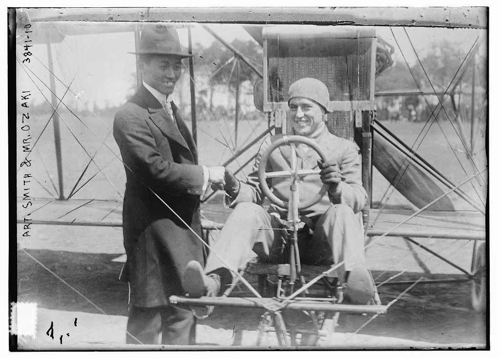 Art. Smith & Mr. Ozaki (LOC)