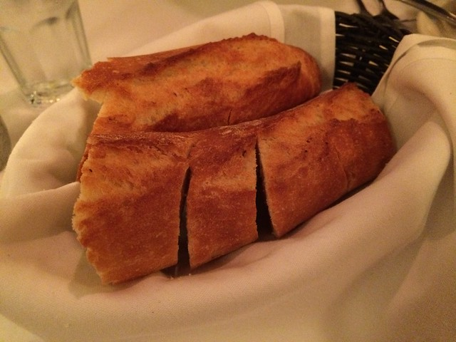 Warm bread - Cafe Bastille