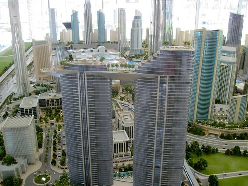 Cool Downtown Dubai Model