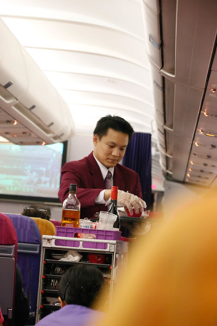 Thai Airways male cabin crew
