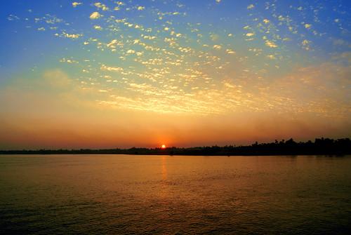 sunset sky water río river atardecer agua cloudy sony egypt nile cielo egipto nilo sonyalpha