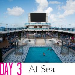 2013 Royal Princess Day 3 - At Sea