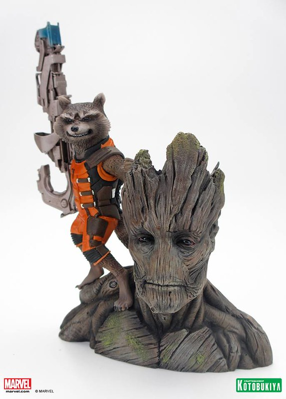 Kotobukiya-Guardians-of-the-Galaxy-Rocket-Raccoon-ARTFX-Statue-001