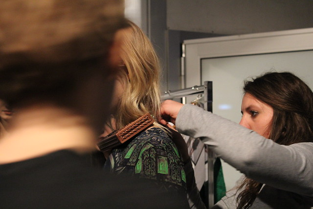 Backstage Alena Akhmadullina presented by ELLE Berlin Fashion Week Janaur 2014 lisforlois