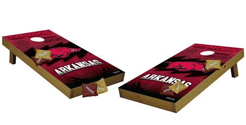 Arkansas Razorbacks Premium Cornhole Boards