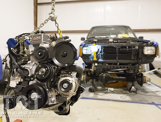 Father Son early 4Runner engine install | January 2014 TCT Magazine