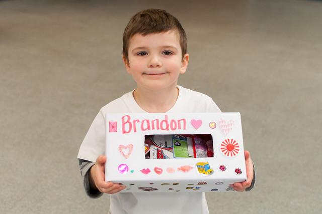 Brandon's Valentine's Box