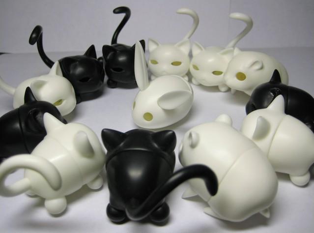 sakura&paper hamster&cat&rabbit