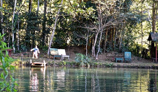 finca ixobel - natural pond