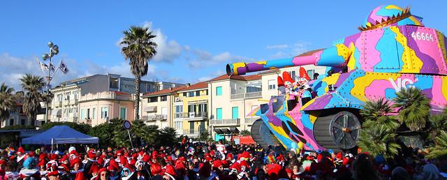 Carnevale Viareggio 2014