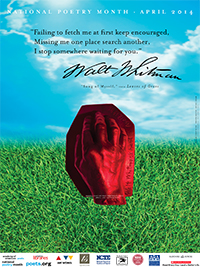 National Poetry Month 2014 poster