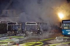 Busbrand Eltville-hattenheim 10.03.14