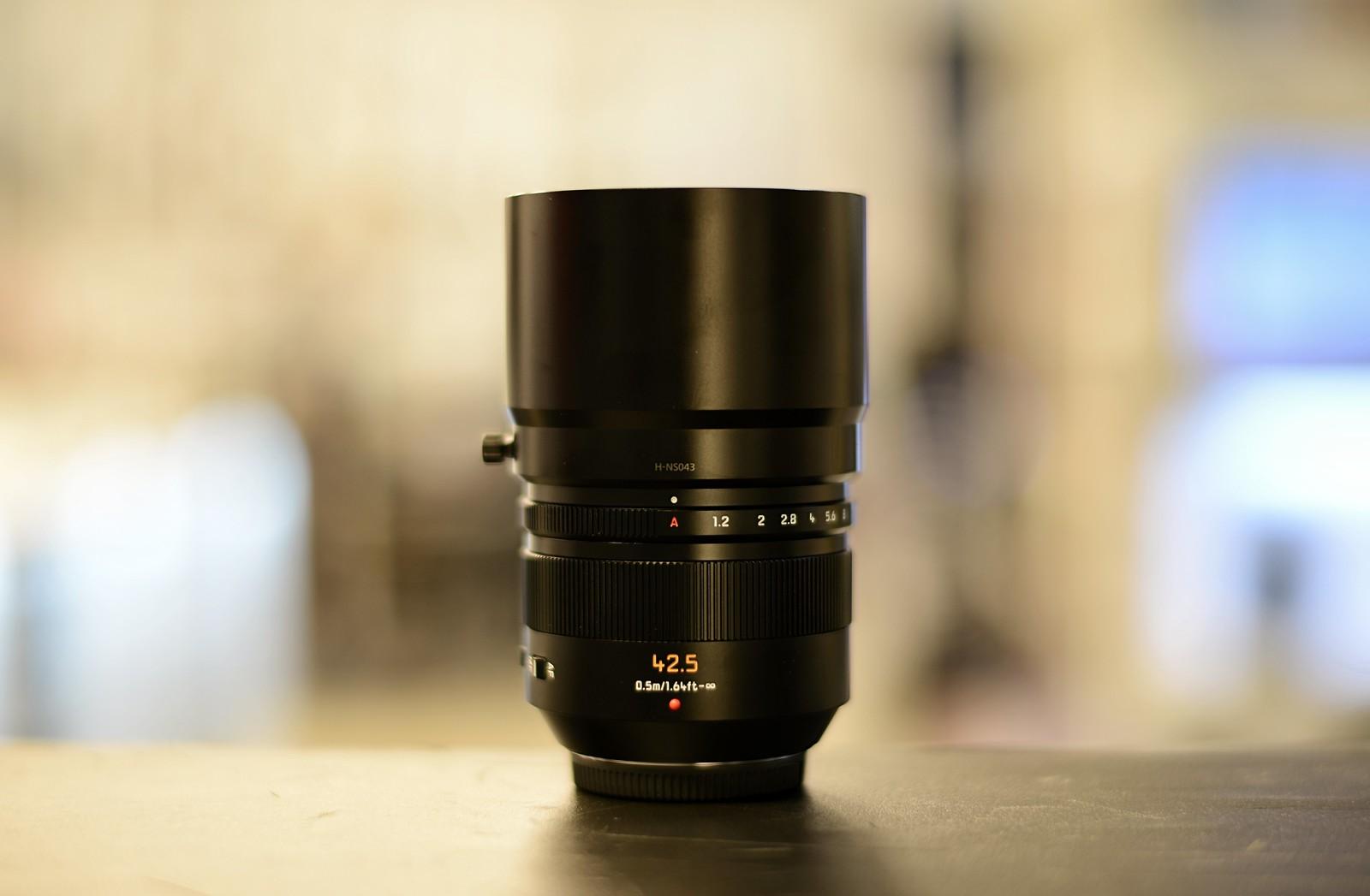 Panasonic Leica DG Nocticron 42.5mm 1.2 ASPH