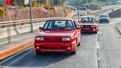 VW Golf Ralye & BMW M3 E30