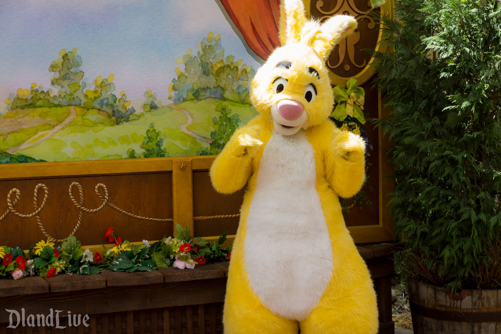 Rabbit at Springtime Roundup at Disneyland