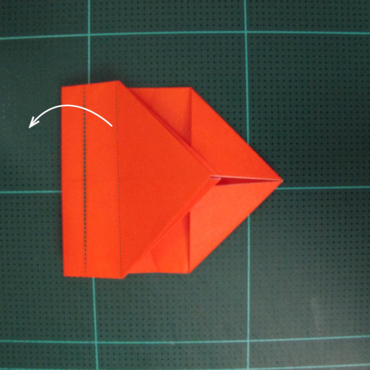 การพับกระดาษเป็นรูปปลาทอง (Origami Goldfish) 006