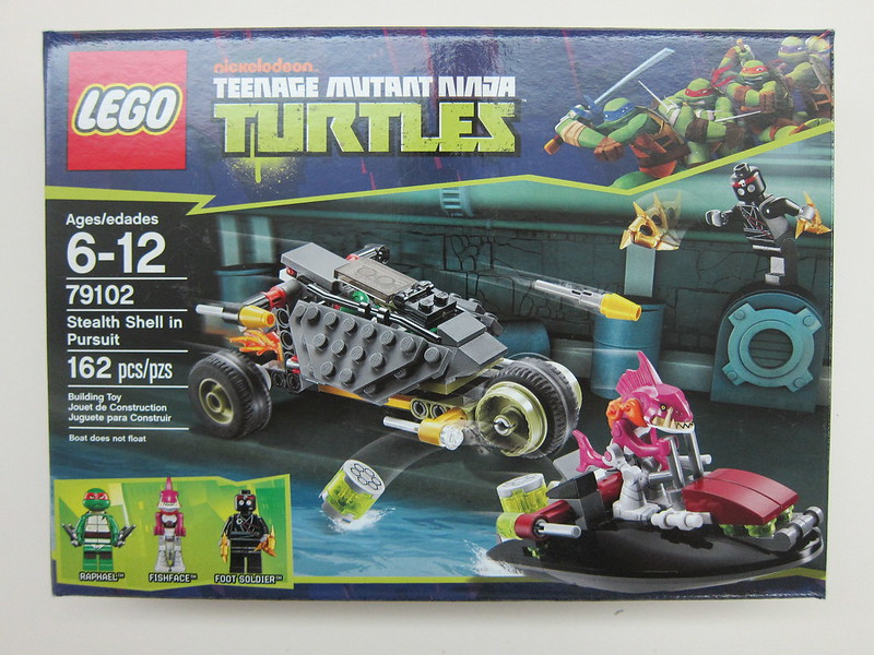 Lego - 79102 - Ninja Turtles - Stealth Shell in Pursuit