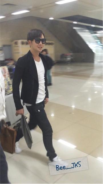 [Pics] Jang Keun Suk returned from Japan to Korea_20140510 13966911309_c4042f96b8_z