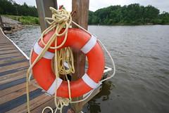 dinghy(0.0), vehicle(0.0), watercraft rowing(0.0), mast(0.0), boating(0.0), watercraft(0.0), raft(0.0), lifebuoy(1.0), boat(1.0),