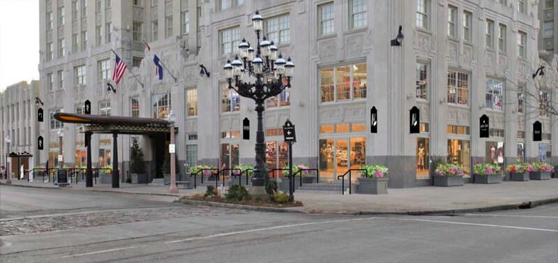 Chase Park Plaza retail proposal
