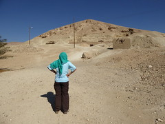 Eileen Contemplating the Tomb of Ankhtifi