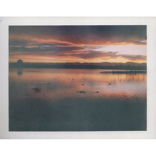square polaroid sunsets denver squareformat co sloanslake instantfilm filmisnotdead fuji100c landcamera250 iphoneography instagramapp uploaded:by=instagram believeinfilm snapitseeit