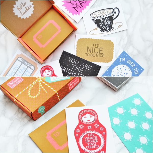 Hazel-notecard-set