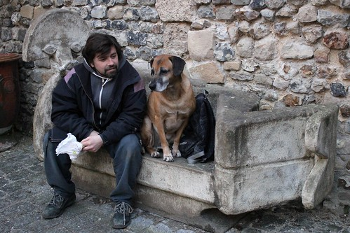 MEETING IN HONFLEUR - AND BRASSENS THE DOG