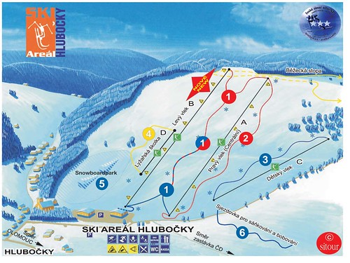 Jednodenní skipas do lyžařského střediska HLUBOČKY s platností v sezoně 2014/15
