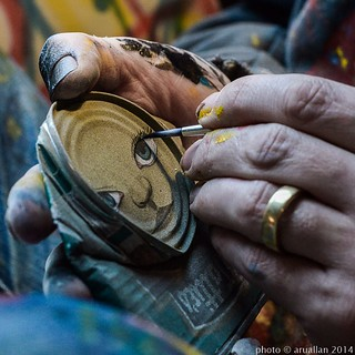 Another lovely shot by @aruallan for her art street and stories blog. Follow the link on her profile to see behind the scenes loves of street artists.