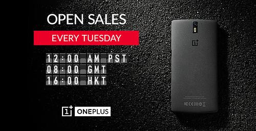 OnePlus One nyílt vásár