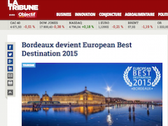 Bordeaux devient European Best Destination 2015