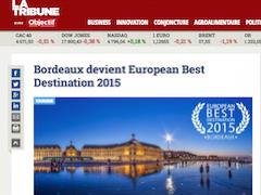 Bordeaux devient European Best Destination 2015