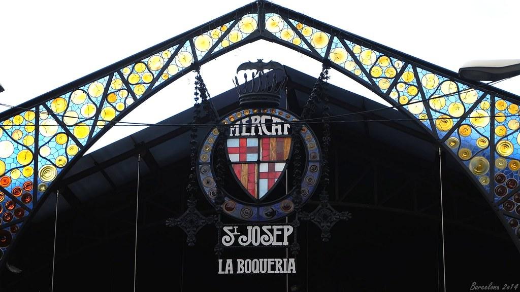 Barcelona day_4, Mercat de la Boqueria, Rambla, 91