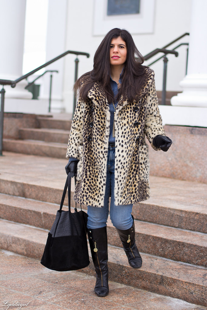 polka dot chambray, double denim, leopard coat-2.jpg