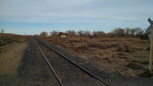 Railroad from Hazen