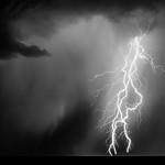 Monsoon Thunderstorm. Sonoran, Desert. Arizona.