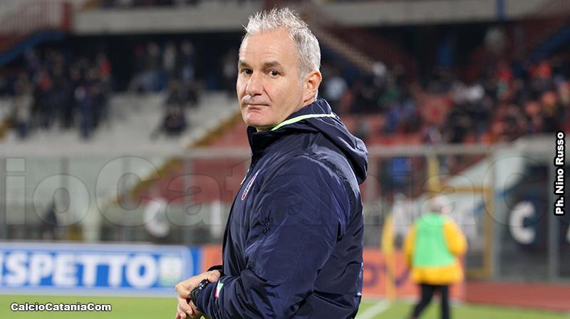 Massimo Drago, tecnico della Reggina ed ex calciatore dell'Elefante