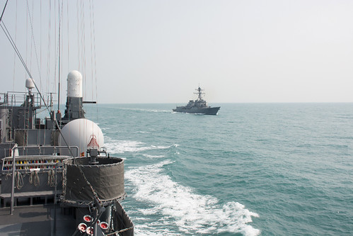 Lassen Enhances Cooperation with JMSDF