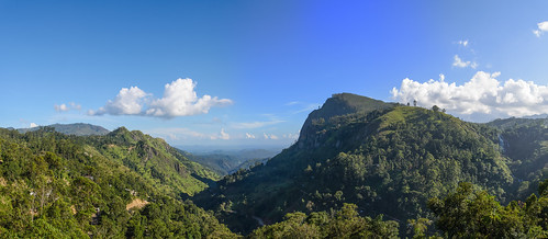 panorama sunrise ella srilanka ceylon sonnenaufgang schlucht centralhighlands hochland ellagap