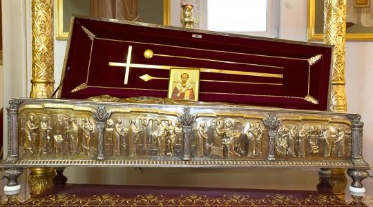 Sfintele Moaste ale Sfantului Ioan Gura de Aur de la Bucuresti