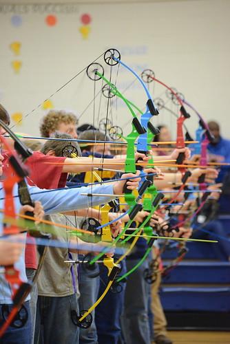 Shooters taking aim