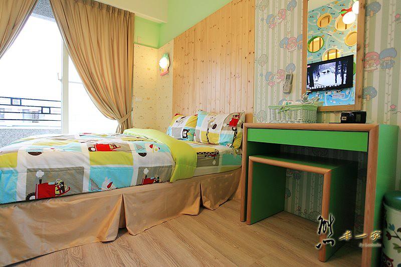 [台東有溜滑梯的親子民宿]民宿庫~兒童樂園家庭房型