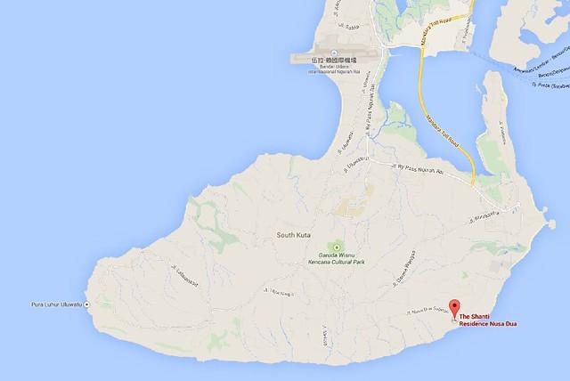 shanti map