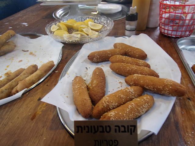 Kibbe stand, Shuq HaCarmel
