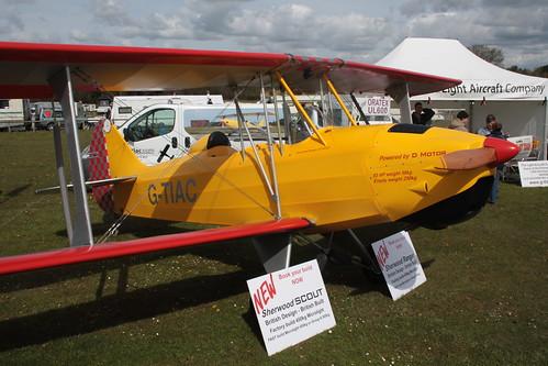 G-TIAC Light Aircraft Company RL-7A Sherwood Ranger Popham