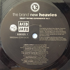 THE BRAND NEW HEAVIES:HEAVY RHYME EXPERIENCE VOL.1(LABEL SIDE-B)
